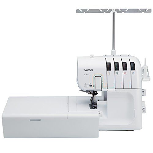 Review Brother 3234DT 2, 3, or 4 Thread Serger with Differential Feed