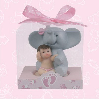 48 Baby Shower Baby Pink Elephant Favors In Box Favors Gift Keepsake Favor front-1079007