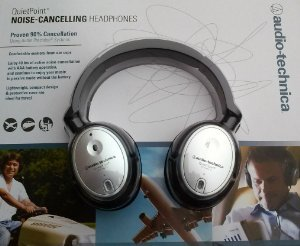 Audio-Technica ATH-ANC7B Silver QuietPoint Active Noise-Cancelling Closed-Back headphones ( earphone ) [parallel import goods]