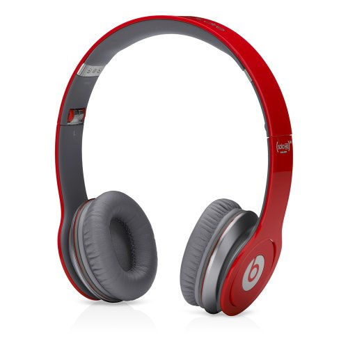 Beats By Dr. Dre First Generation Solo Hd On-Ear Headphones (Red)