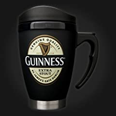 Small Guinness Label Travel Mug