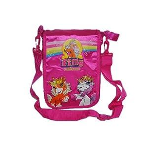 Schauen Sie sich Kundenbewertung für Umhängetasche Filly Pferd Kindertasche rosa pink Kinder Kind Unicorn Einhorn Magic Art Titania Krone Mädchen Tasche Sporttasche Reisetasche Tragetasche Tasche Sportbeutel Schulsporttasche wasserabweisend abwischbar Kindergarten Turnbeutel Fairy
