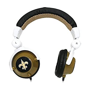 iHip New Orleans Saints DJ Headphones (Discontinued by Manufacturer) by iHip