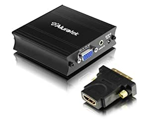 Aluratek AVH100F VGA To HDMI Converter Adapter