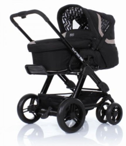 ABC-Design Turbo 6S safari Kombi-Kinderwagen inkl. Tragewanne 3in1 MODELL 2013