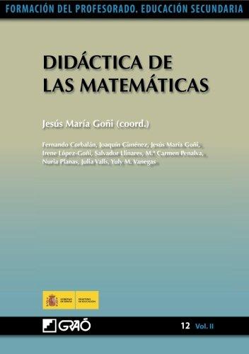 Didáctica De Las Matemáticas (Volume 2) (Spanish Edition)