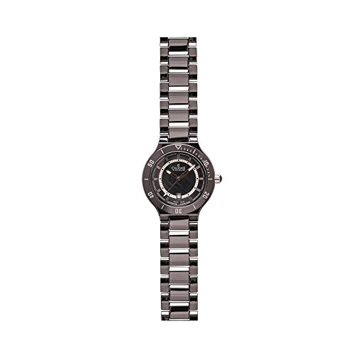 Charmex San Remo 6321 43mm Ceramic Case Black Ceramic Synthetic Sapphire Women's Watch