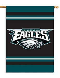 NFL Philadelphia Eagles 2-Sided 28-by-40-Inch House Banner by Fremont Die