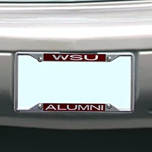 Buy NCAA Washington State Cougars License Plate Frame Alumni by Stockdale