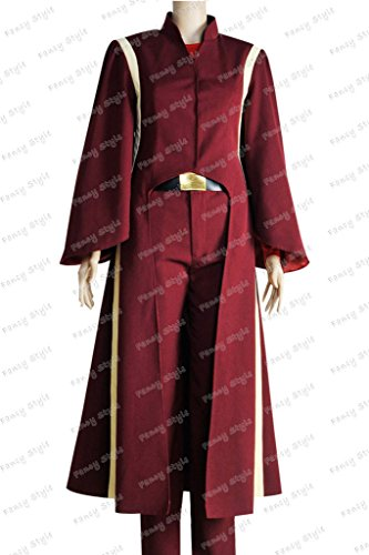 [Star Wars The Phantom Menace Queen Padme Amidala Cosplay Costume S] (Padme Amidala Halloween Costumes)