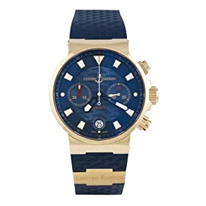 للبيع ساعة مستعملة ونظيفة ماركتها Ulysse Nardin Marine 41Wsx3xiexL._SL500_A