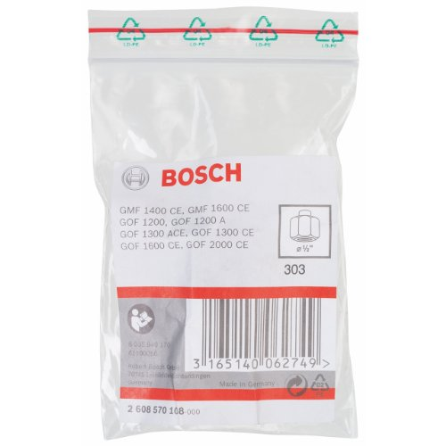 2608570108 Collet/nut Set Forrouters 2608570108 Blue By Bosch