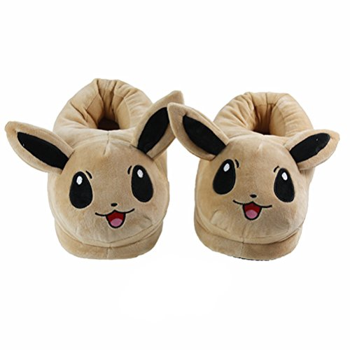 POKEMON-PANTUFLAS-EEVEE-ZAPATILLAS-SLIPPERS-PLUSH-SLIPPERS-EEVEE-28cm11