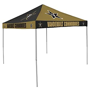 NCAA Vanderbilt Commodores Checkerboard Tent by Logo Chair Inc.