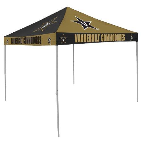 Ncaa Vanderbilt Commodores Checkerboard Tent front-940634