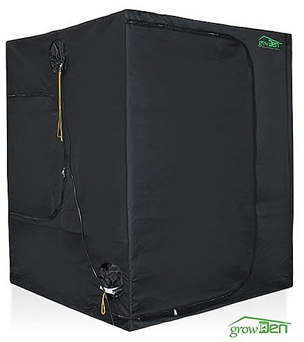 Growden (Tm) Hydroponics Indoor Grow Tent Greenhouse Box Room - 5 Year Manufacturer Warranty ! (3'X3'X6.6')