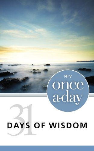free kindle book NIV Once-A-Day 31 Days of Wisdom