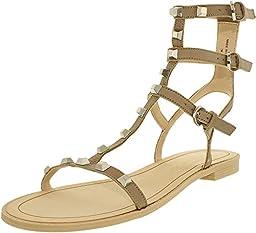 Rebecca Minkoff Women\'s Georgina GLADIATOR Sandal, Sand, 8 M US