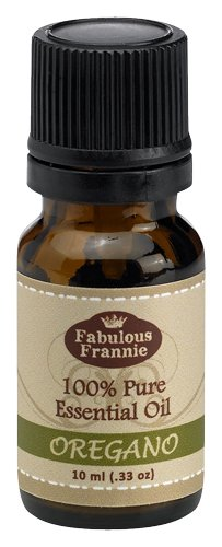 Oregano 100% Pure, Undiluted Essential Oil Therapeutic Grade - 10 ml. Great for Aromatherapy!