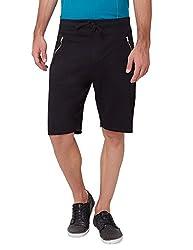Elaborado Men's Casual Shorts - Black - 28 - EAIS5124BL1