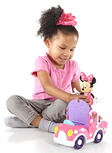 Fisher-Price 11 Pieces Disney Minnie Mouse and Friends in Polka Dot Pony Cart Set (Register My Fire Tablet compare prices)