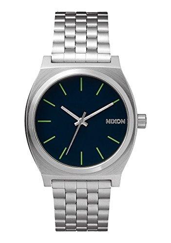 Nixon Time Teller 37mm Midnight Blue-Green - Orologio Unisex