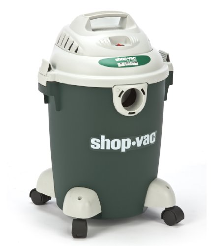 Shop-Vac 5960600 2.75-Peak Horsepower Quiet Plus Wet/Dry Vacuum, 6-Gallon