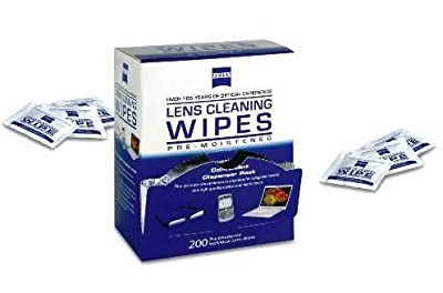 Zeiss Pre-Moistened Lens Cloths Wipes
