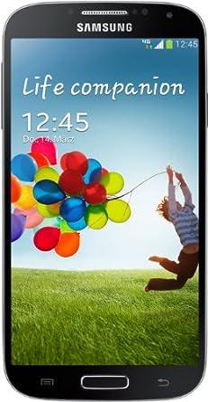Samsung Galaxy S4 Smartphone (4.99 Zoll AMOLED-Touchscreen, 16 GB Speicher, Android 4.2) - tief schwarz
