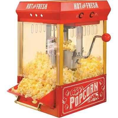 Electrics Kettle Hot Machine Vintage Popcorn Popper Maker Air Red NEW (Vintage Hot Air Popcorn compare prices)