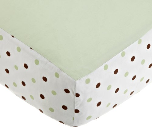 American Baby Company Fashion Crib Fitted Sheet, Celery