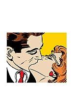 Legendarte Lienzo Kissing Couple