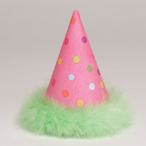 Sleepover Cone Hats (6 count) - 1