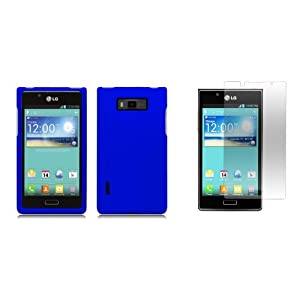 Amazon.com: LG Optimus Showtime - Premium Accessory Kit - Blue Hard