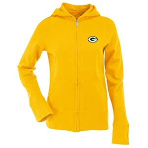 NFL Women's Green Bay Packers Signature Full Zip Hood from Antigua