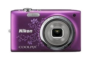 """Nikon Coolpix S2700 Appareil photo numérique compact 16,4 Mpix Ecran 2,7"""" Zoom optique 6x Violet"""