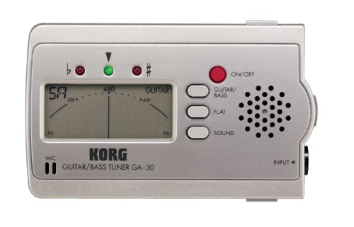 Korg GA-30 Ultra Compact Guitar and Bass Tuner