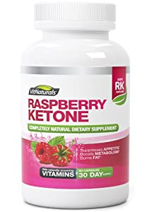 Raspberry Ketone Natural Weight Loss Supplement - Premium 1200mg Ketones Extract - Dr. Oz Recommended Diet Pills - Contains 60 Capsules of Pure Advanced Formula With Zero Side Effects - Essential For Fast Fat Burn - Feel Slim and Fresh - The Best Natural Weight Loss and Slimming Aid Backed By Lifetime Money-Back Guarantee