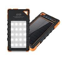 Aedon 10000mAh A1 Portable Solar Charger...