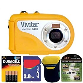 Vivitar 8400 Underwater Camera Bundle