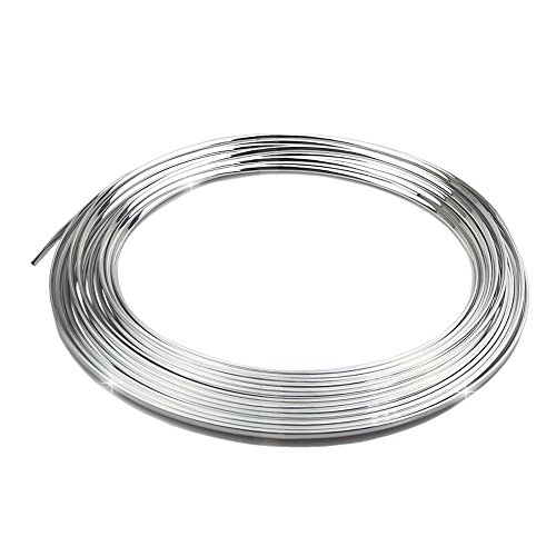 Kingmas Diy Car Auto Truck Door Edge Guard Trim Molding Strip Protector 15M Silver front-158788