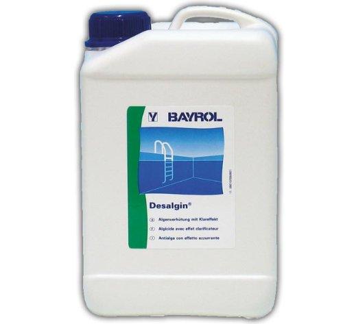 Inessearph bayrol 724 desalgin algicide pour piscine 3 l for Algicide piscine