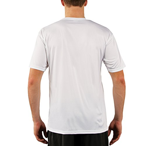 Vapor Apparel Men's Solar Performance UPF Short Sleeve T-Shirt X-Small White