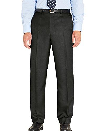 mens-quality-formal-elasticated-trousers-black-40w-x-33l