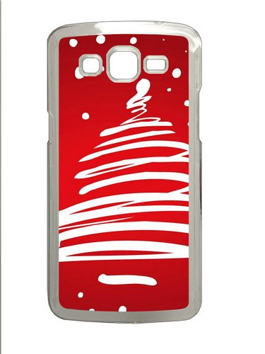 Christmas 13 Halloween Gift Polycarbonate Hard Case Cover For Samsung Grand 2/7106 Transparent