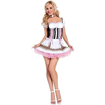 Amazon.com: Heidi Ho 3Pc Medium/Large 8-12 Costume: Adult Sized