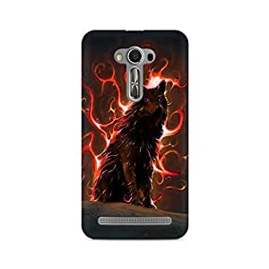 Mobicture Wolf Premium Printed Case For Asus Zenfone 2 Laser ZE550KL