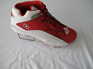 Buy Dwyane Wade HAND SIGNED Autographed Red Converse Wade Team Shoe Miami Heat - Autographed NBA... by Sports Memorabilia
