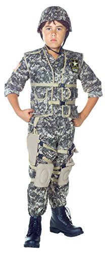 Boys Us Army Ranger Kids Child Fancy Dress Party Halloween Costume