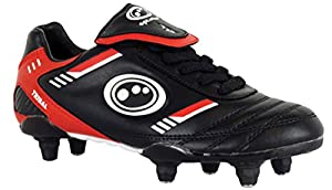New Optimum Tribal Si Mens Football Boots Lace Up Soccer Studs Senior Size 8